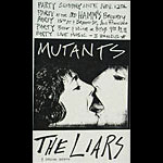 Mutants Punk Flyer / Handbill
