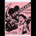 The Stranglers Punk Flyer / Handbill
