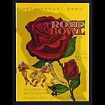 1960 Rose Bowl College Football Program