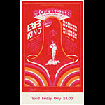 Robert Fried Robert Fried BG123 Mothers of Invention 1968 Winterland Ticket
