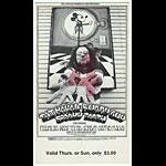 Randy Tuten Randy Tuten BG192 Taj Mahal 1969 Fillmore Ticket