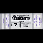 Aerosmith 1978 ticket