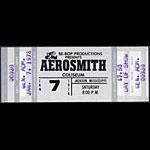 Aerosmith 1978 ticket