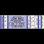 Joan Baez 1987 Portland Ticket