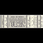 George Benson 1987 Portland Ticket