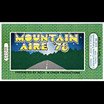 Mountain Aire 1978 Ticket