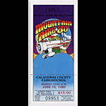Mountain Aire 1980 Ticket
