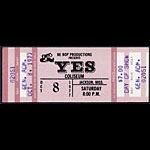 Yes 1977 ticket
