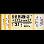 Blue Oyster Cult 1976 ticket