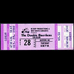 Doobie Brothers 1980 ticket