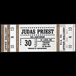 Judas Priest 1988 ticket