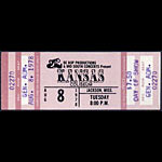 Kansas 1978 ticket