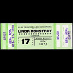 Linda Ronstadt 1980 ticket