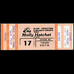 Molly Hatchett 1981 ticket