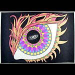 Andromeda Mandala Blacklight  Poster
