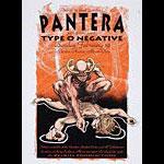 Derek Hess Pantera Poster