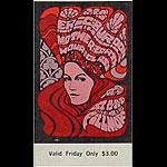 Vintage Allman Brothers Ticket
