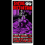 Jeff Wood - Drowning Creek Social Distortion Handbill