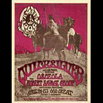 FD # GH700424-1 Quicksilver Messenger Service Family Dog handbill FDGH700424