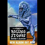 Rolling Stones Bridges to Babylon Poster