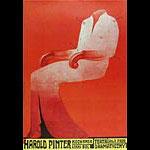 Harold Pinter Polish Theater Poster