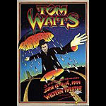 Randy Tuten Tom Waits L.A  Poster